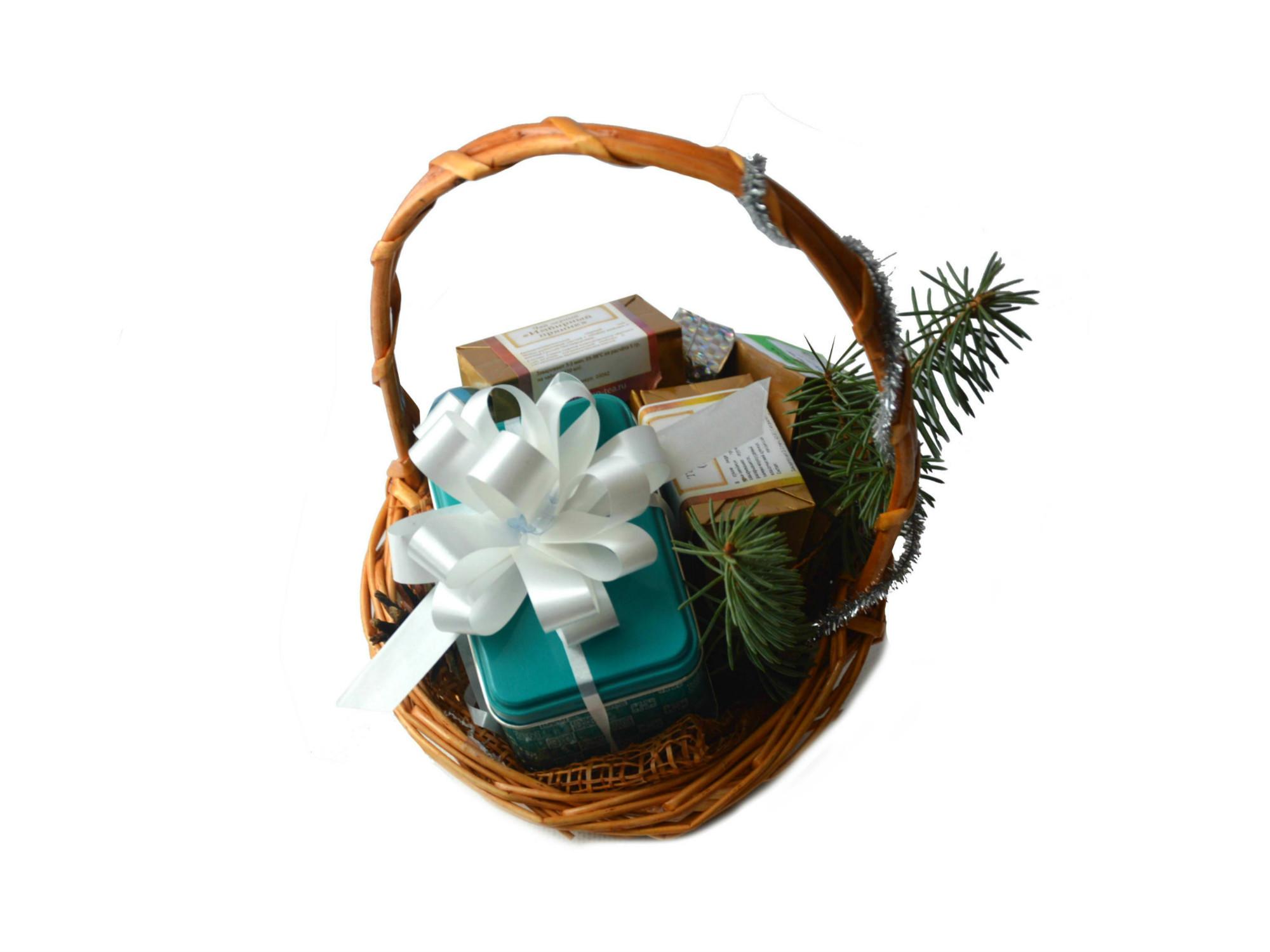 Корзинка на подарок 12