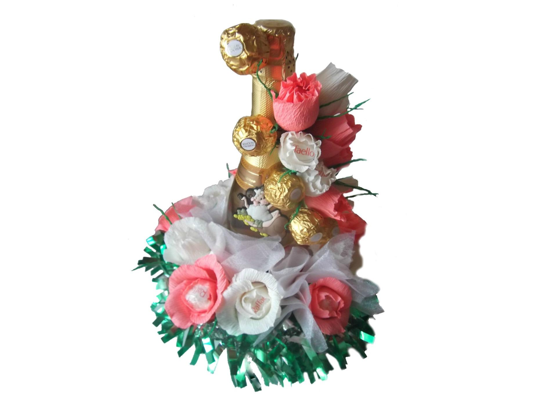 Подарки шампанское конфеты 47