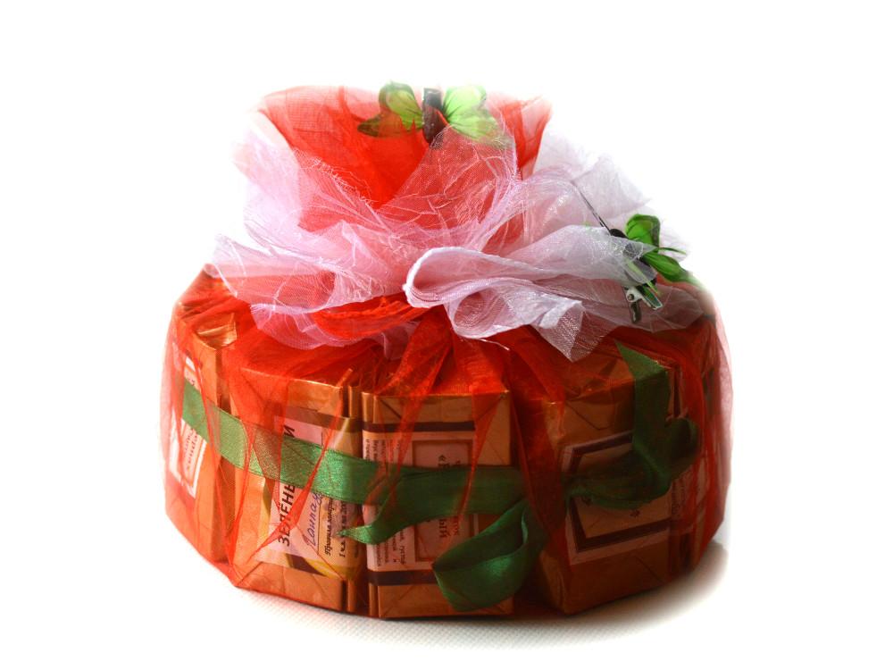 Как красиво упаковать чай для подарка 694