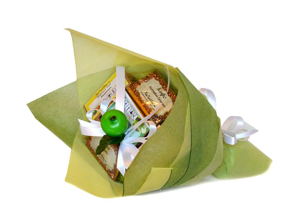 Подарочный букет из чая и кофе своими руками 96