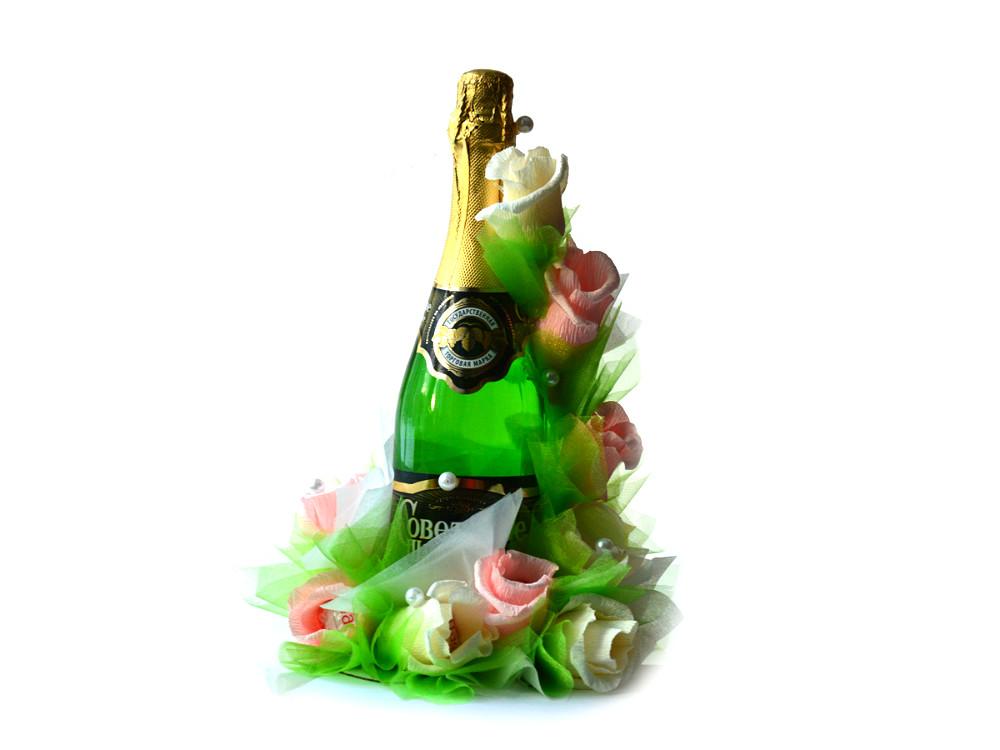 Подарки из шампанского и конфет своими руками - Год 2018