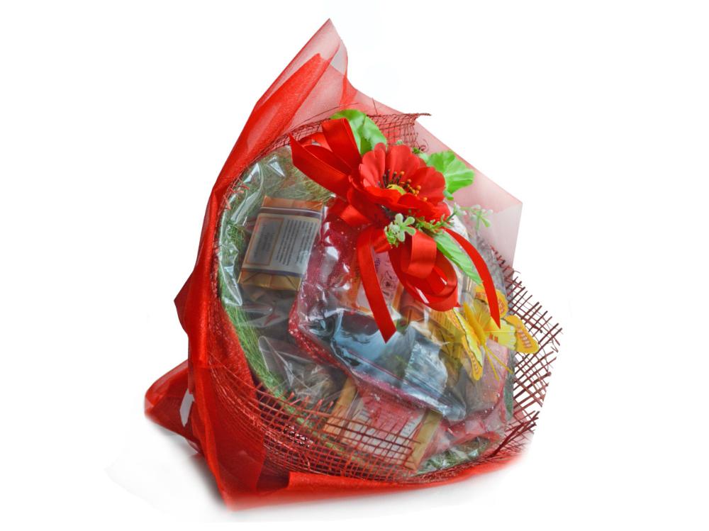 Букеты, подарки и подарочные корзины из чая, кофе, конфет 54